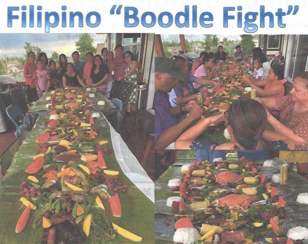 Filipino Boodle Fight 1
