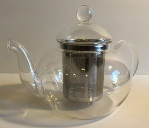 1000 ml Glass Teapot 6