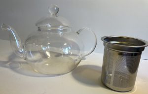 800 ml Glass Teapot 2